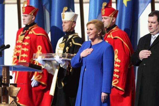 Kolinda Grabar Kitarovic Zagreb