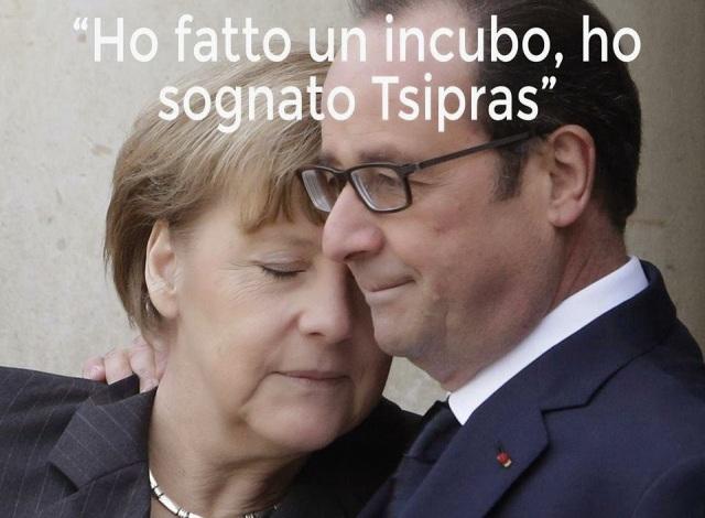 merkel hollande tsipras eurocrati