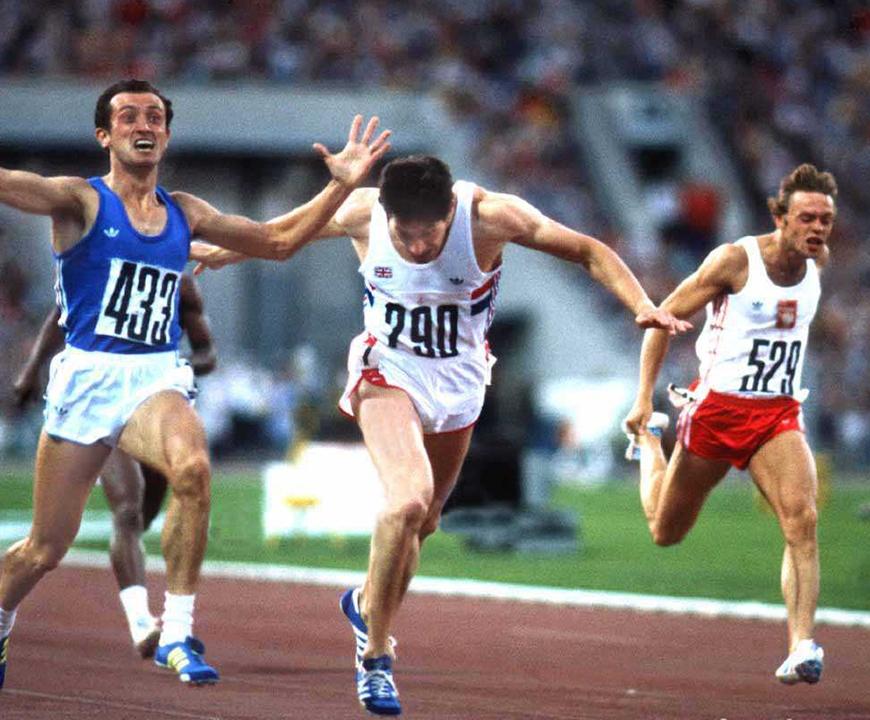 Pietro Mennea finale 200 metri Mosca 1980
