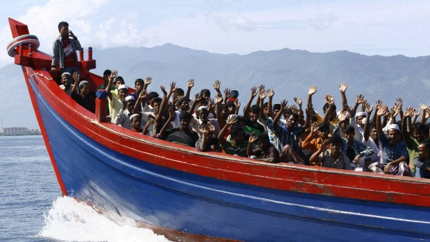 rohingya boats migrants
