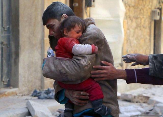 aleppo Syria baby