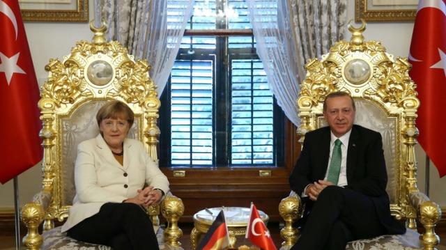 Angela Merkel Erdogan