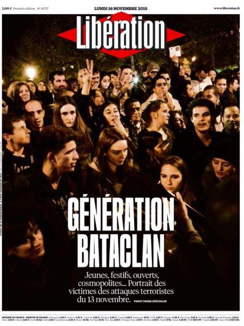 génération bataclan libération