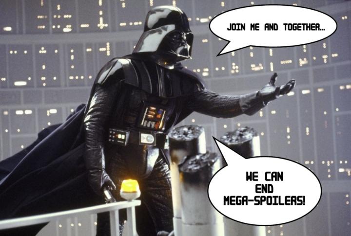 darth vader spoiler star wars