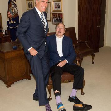 Mitt-Romney-George-Bush