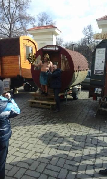 Il venditore di sauna, ovvero la versione lituana di Giorgio Mastrota