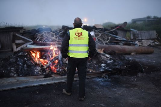 CGT Francia sciopero