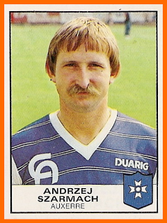 Andrzej SZARMACH Panini Auxerre 1984.png