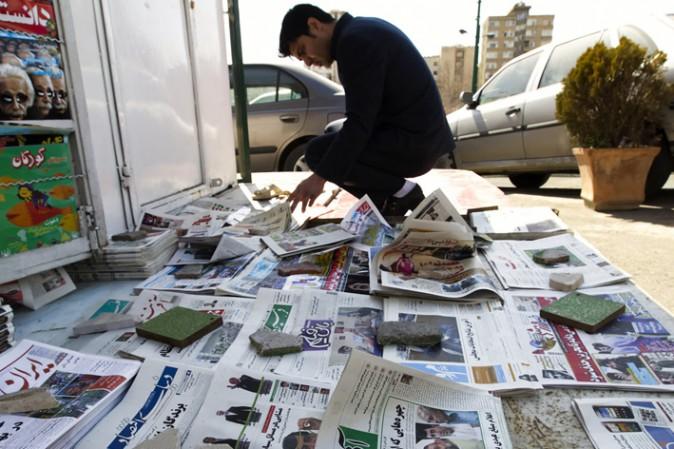 libertà giornalisti iran