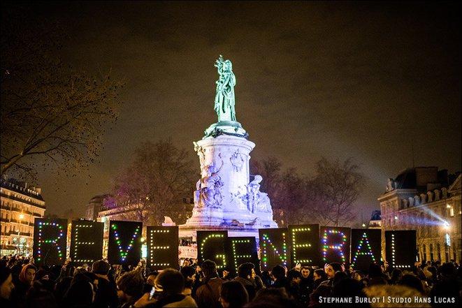 Nuit Debout Paris reve generel