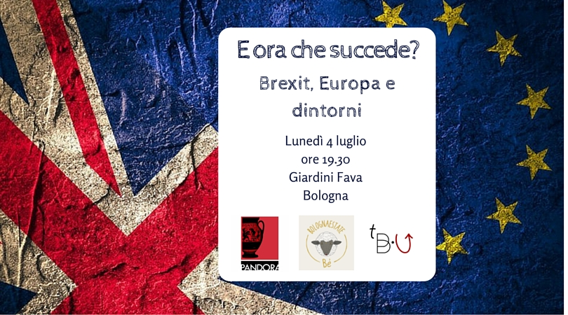 brexit evento the bottom up
