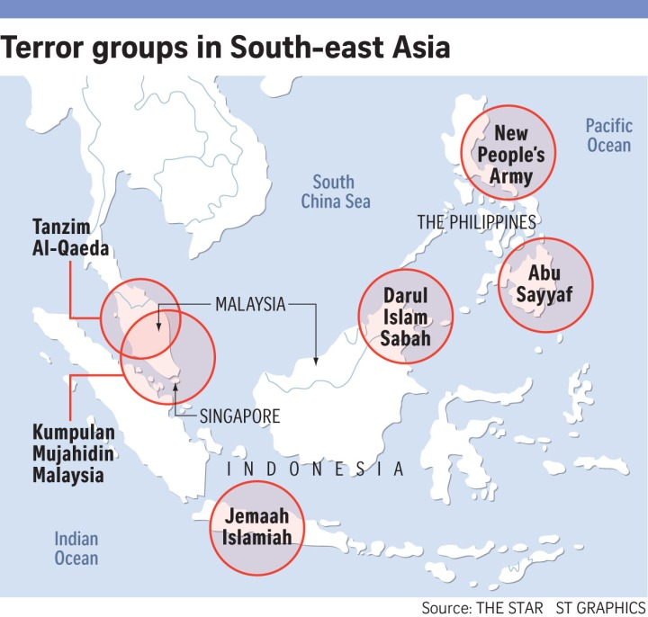 Terrorismo nel sud-est asiatico