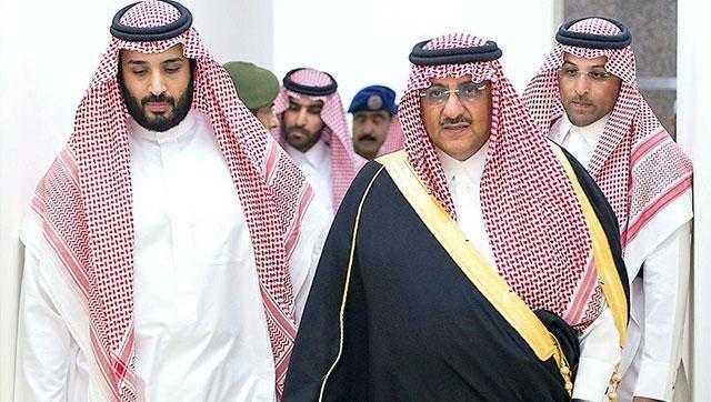 I due principi Sauditi: bin Salman a sinistra e Nayef a destra.