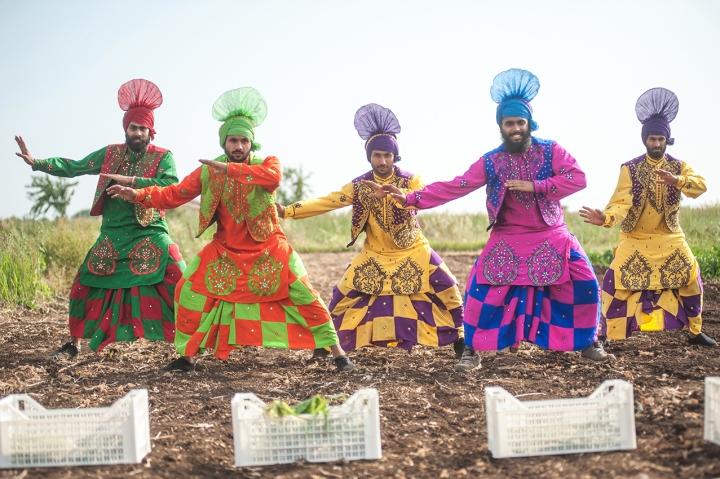 the harvest produzioni dal basso danza sikh
