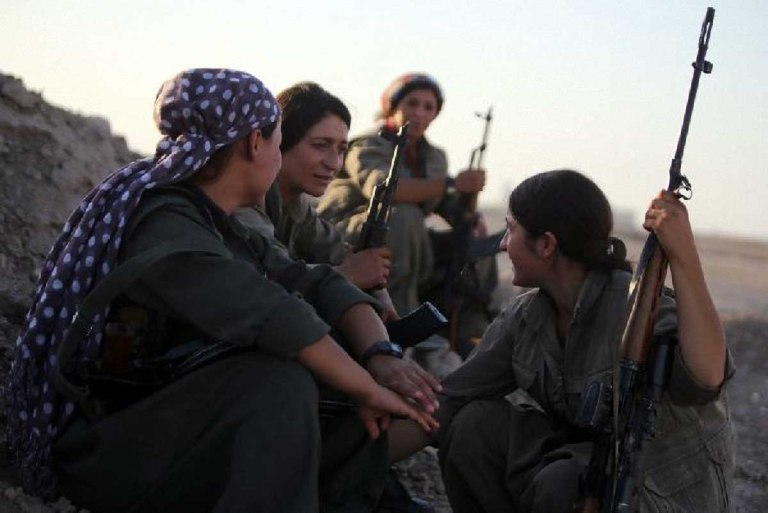 Girls at war film kurdistan donne