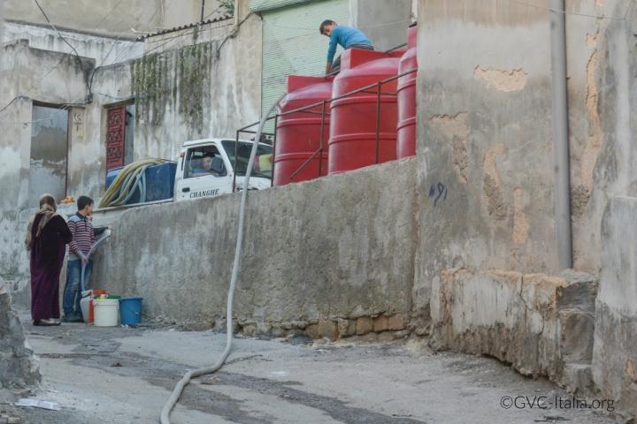 Aleppo Syria Water