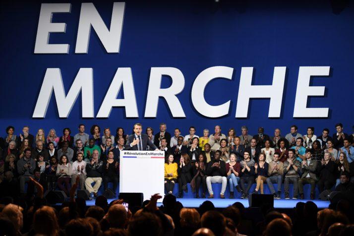 FRANCE-POLITICS-VOTE-MACRON