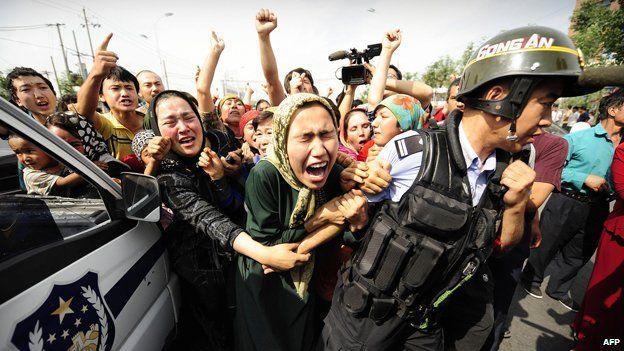 cina islam proteste
