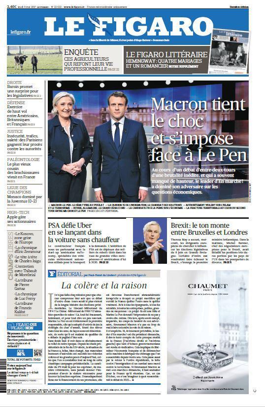 Prima pagina Figaro dopo dibattito.jpg