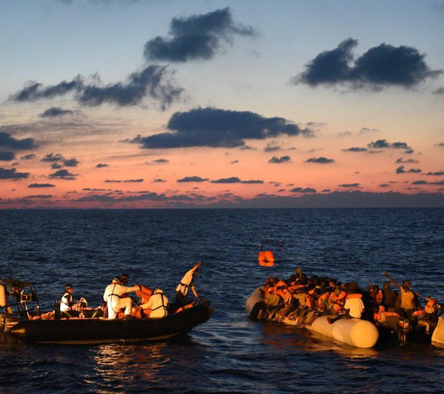 operazioni salvataggio ong migranti mediterraneo