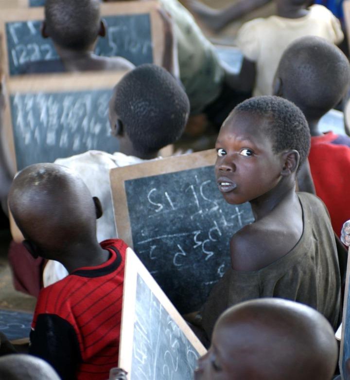 sud sudan bambini