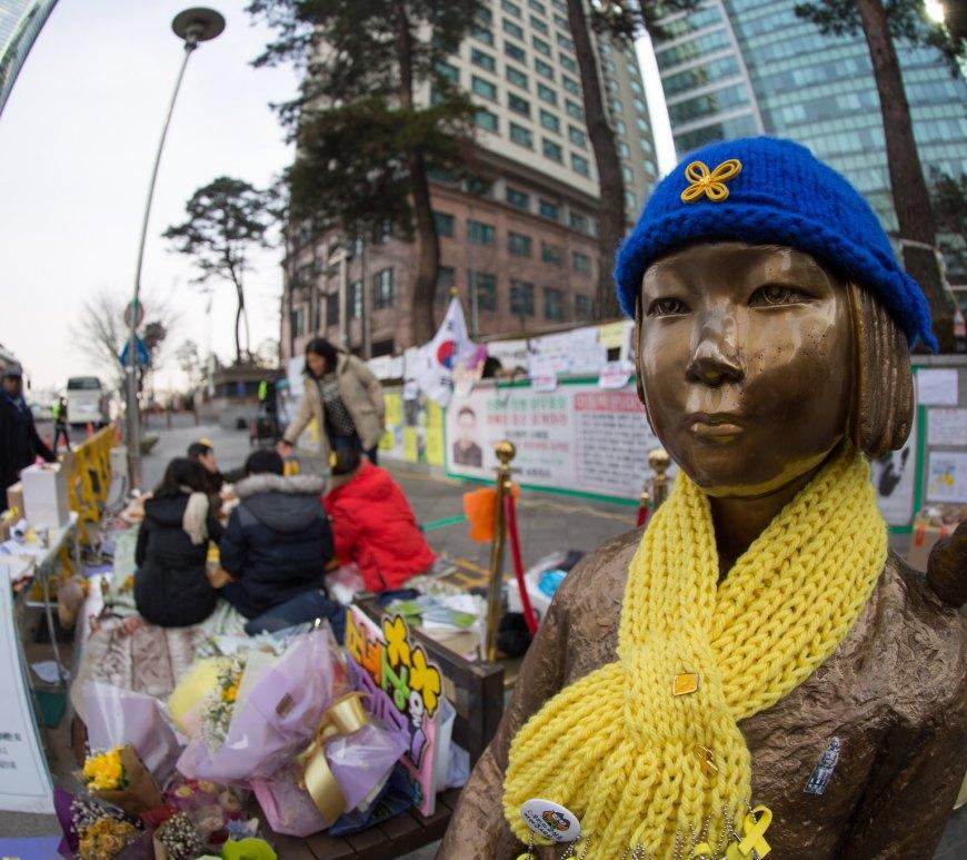 statua comfort women seuol