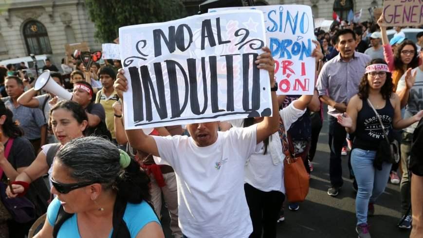 proteste perù grazia fuijmori