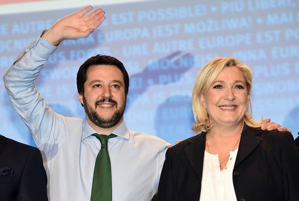 Salvini, Le Pen together in Milan