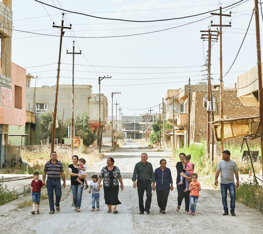 famiglie irachene casa