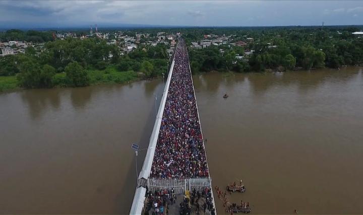 carovana migranti usa