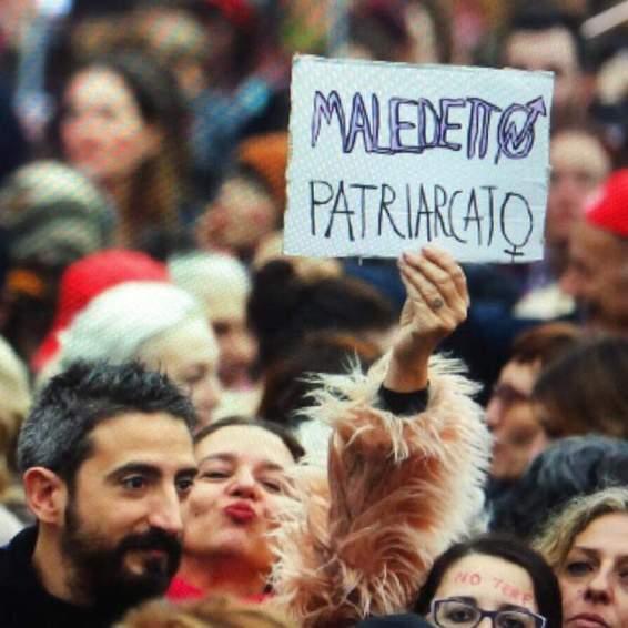 patriarcato non una di meno