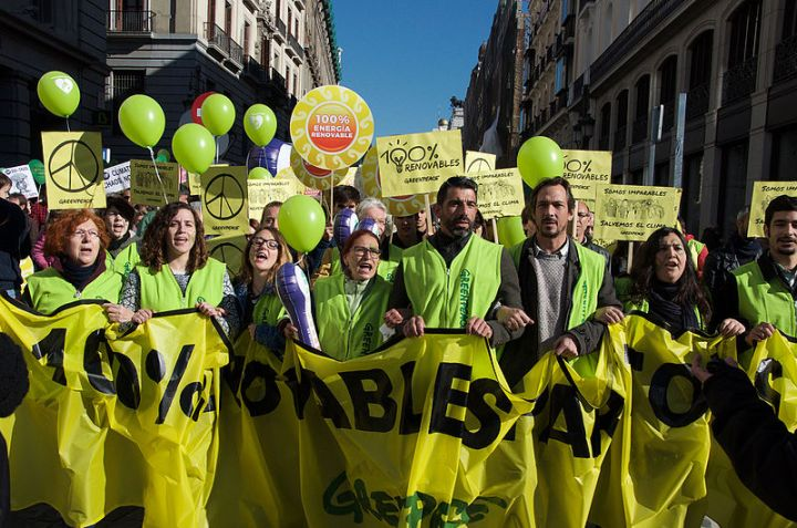 greenpeace climate march 2015