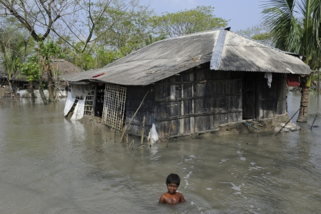 Bangladesh battles in the frontline against climate change
