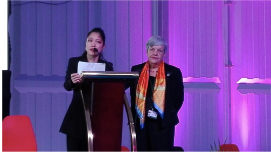 Kazuko Fukuda at the 25th anniversary of the International Conference on Population and Development (2019), Nairobi Summit