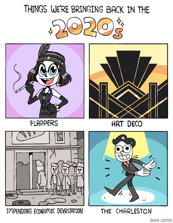 Pronti ad entrare negli anni Venti?