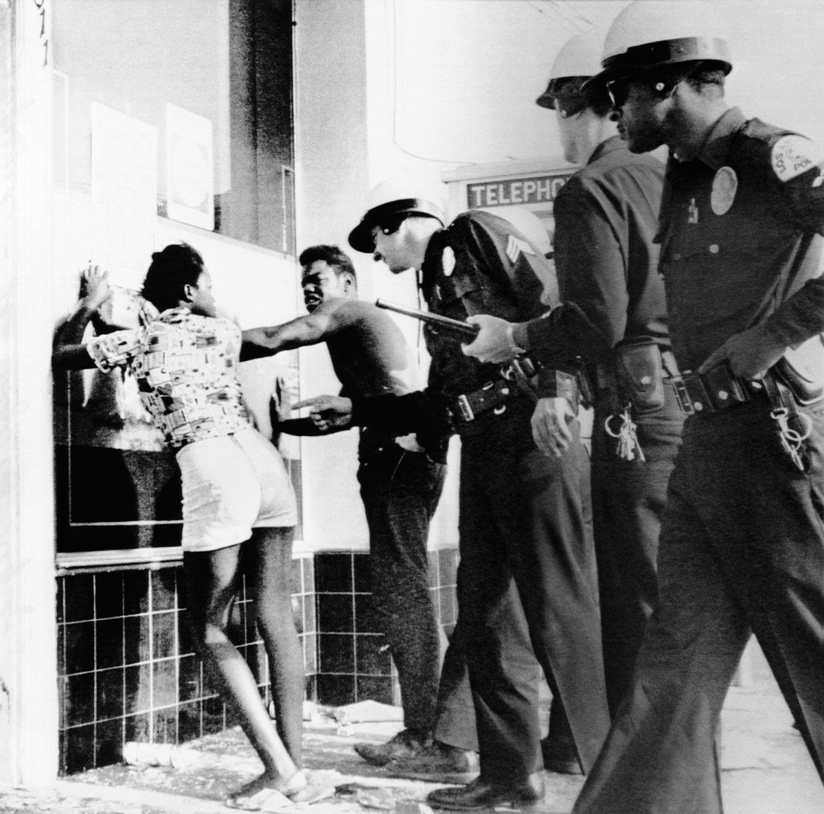 Watts Riots Los Angeles 1965
