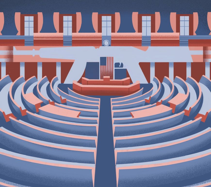 Rifle Parliament illustrazione Stefano Grassi