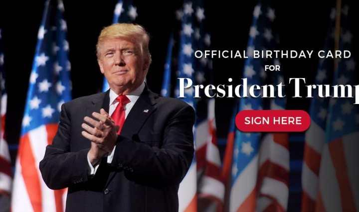 Donald Trump Compleanno