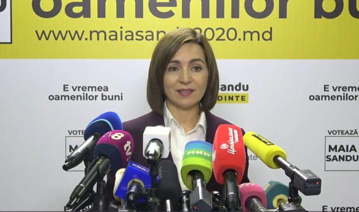 Maia Sandu Presidente Moldavia