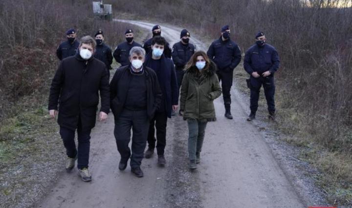 delegazione europarlamentari in Bosnia