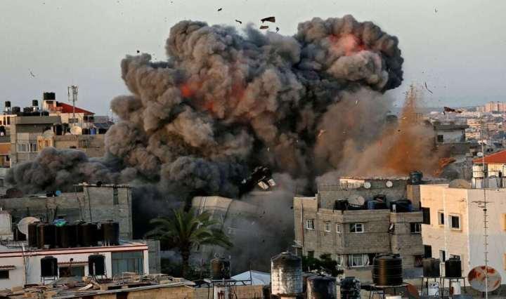 Israele Palestina bombardamenti