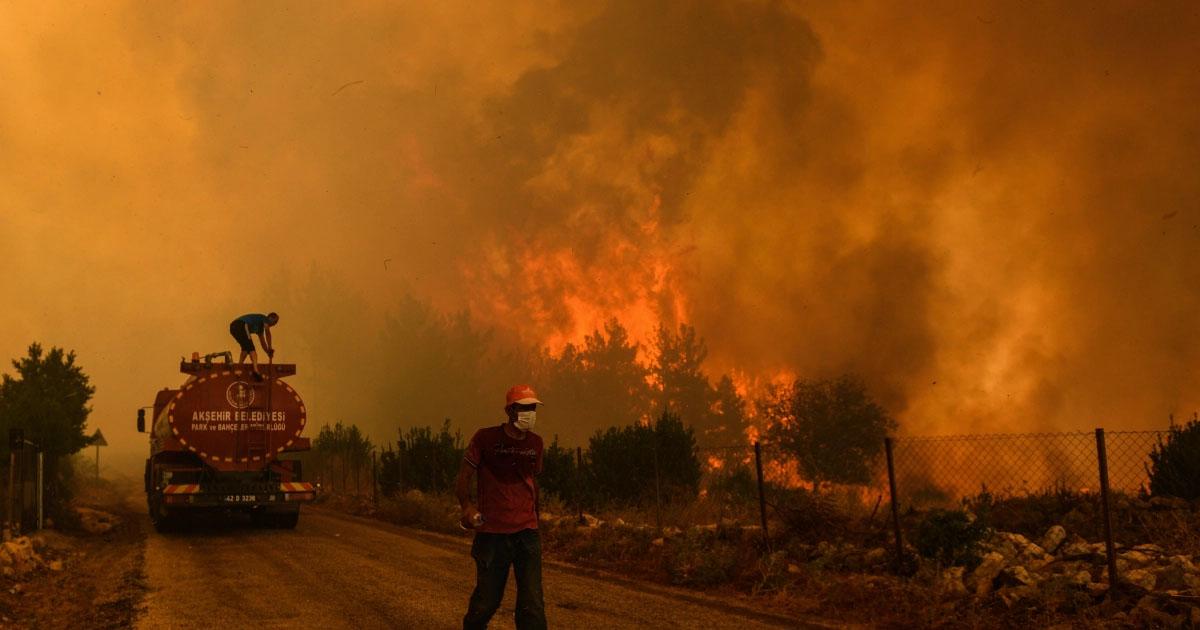 Incendi Turchia 2021